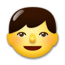 Boy Emoji on LG Phones