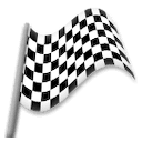 Chequered Flag Emoji on LG Phones
