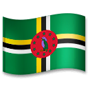 Flag: Dominica Emoji on LG Phones