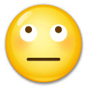 Face With Rolling Eyes Emoji on LG Phones
