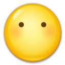 Face Without Mouth Emoji on LG Phones