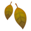 Fallen Leaf Emoji on LG Phones