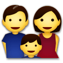 Family Emoji on LG Phones