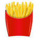 French Fries Emoji on LG Phones