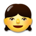 Girl Emoji on LG Phones