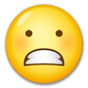 Grimacing Face Emoji on LG Phones