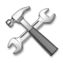 Hammer And Wrench Emoji on LG Phones