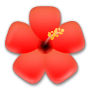 Hibiscus Emoji on LG Phones
