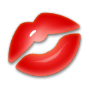 Kiss Mark Emoji on LG Phones