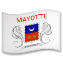 Flag: Mayotte Emoji on LG Phones