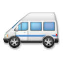 Minibus Emoji on LG Phones