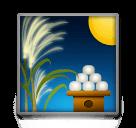 Moon Viewing Ceremony Emoji on LG Phones