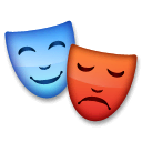 Performing Arts Emoji on LG Phones