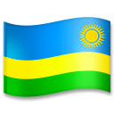 Flag: Rwanda Emoji on LG Phones