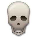 Skull Emoji on LG Phones