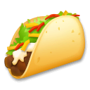 Taco Emoji on LG Phones