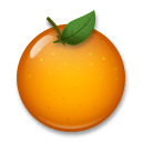 Tangerine Emoji on LG Phones