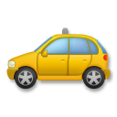 Taxi Emoji on LG Phones