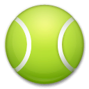 Tennis Emoji on LG Phones