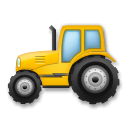Tractor Emoji on LG Phones