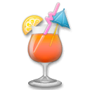 Tropical Drink Emoji on LG Phones
