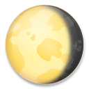 Waning Gibbous Moon Emoji on LG Phones