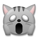 Weary Cat Emoji on LG Phones