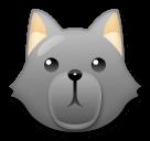 Wolf Emoji on LG Phones