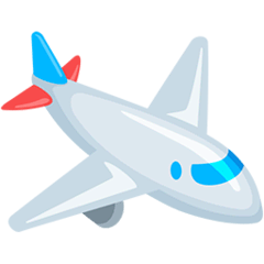 Airplane Emoji in Messenger
