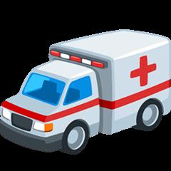 Ambulance Emoji in Messenger