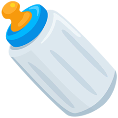 Baby Bottle Emoji in Messenger