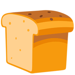 Bread Emoji in Messenger