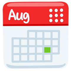 Emoji Calendario Png.Calendar Emoji Meaning Copy Paste