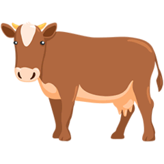 🐄 Cow Emoji — Meaning, Copy & Paste