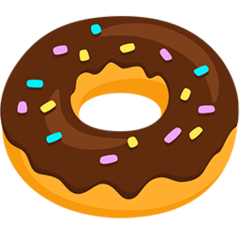 Doughnut Emoji in Messenger