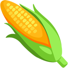 Ear of Corn Emoji in Messenger