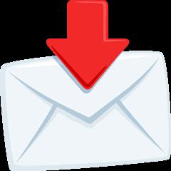 Envelope With Arrow Emoji in Messenger