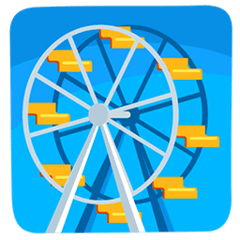 Ferris Wheel Emoji in Messenger