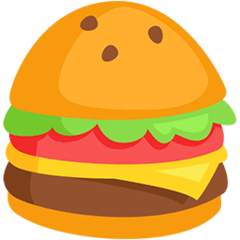 Hamburger Emoji in Messenger