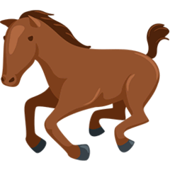 Horse Emoji in Messenger