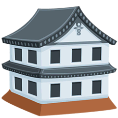 Japanese Castle Emoji in Messenger