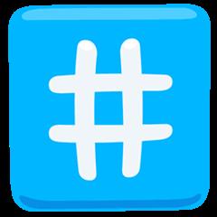 Keycap: # Emoji in Messenger