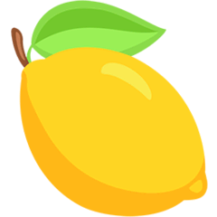 Lemon Emoji in Messenger
