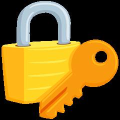 Locked With Key Emoji in Messenger