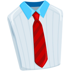 Necktie Emoji in Messenger