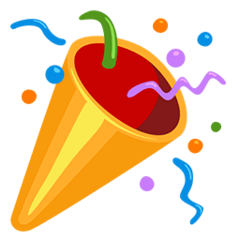 🎉 Party Popper Emoji — Meaning, Copy & Paste