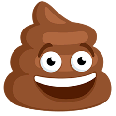 Pile of Poo Emoji in Messenger