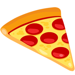 Pizza Emoji in Messenger