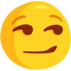 Smirking Face Emoji in Messenger