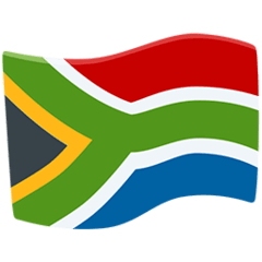 South Africa Emoji in Messenger